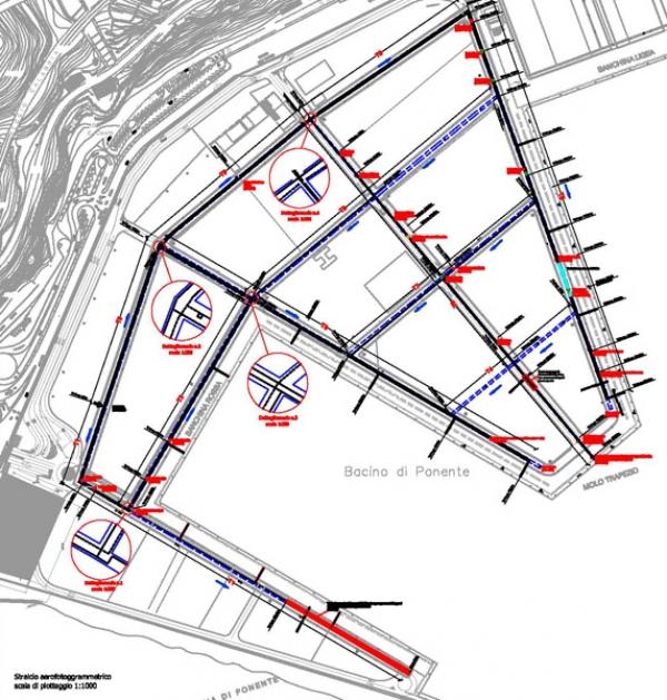 Porto di Salerno - Verifica delle condizioni conservative dei cunicoli