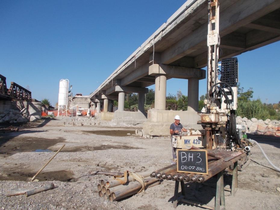 Cantiere ANAS Viadotto Allaro SS 106 Calabria